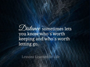 Lessons Learned Life