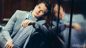 ... Ansel Elgort (Caleb) today. Read what they had to say and watch the