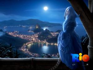 Blu in Rio Movie Wallpaper