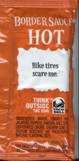 Taco Bell Sauce Packet Phrases taco bell sauce packet sayings 11