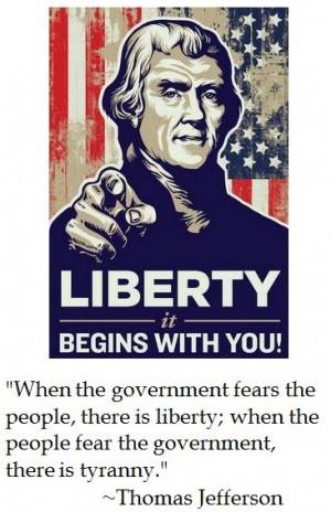 Thomas Jefferson on Liberty