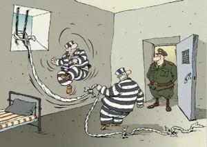 Funny prison cartoon