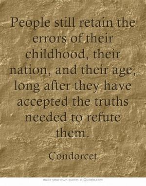 You preach it, Condorcet!