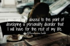 ... rest of my life. //Verbal Abuse Quotes   Verbal Abuse Quotes Tumblr