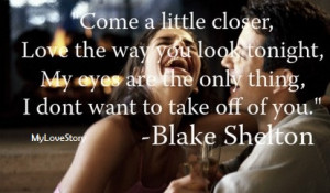 The Greatness of Country Love Song Quotes My Love Story