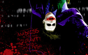Batman Quotes Wallpaper 1280x800 Batman, Quotes, The, Joker, The, Dark ...