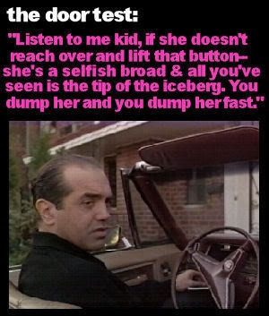 Bronx Tale - Sonny played by Chaz Palmentieri