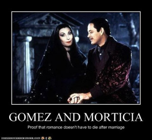 Morticia and Gomez Love Quotes
