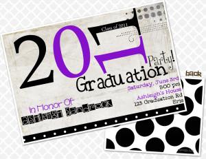High School Graduation Quotes 2013 2013 graduation party invite