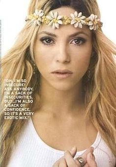 Shakira People'S Concerts, Shakira Quotes, Cutie Quotes, Shakira Style ...