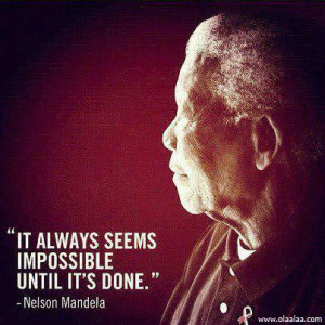 Motivational Thoughts by Nelson Mandela