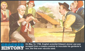 Edward Jenner Inoculates Boy with The First Vaccine Ever!