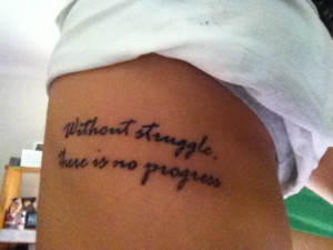 tattoo quotes about struggle