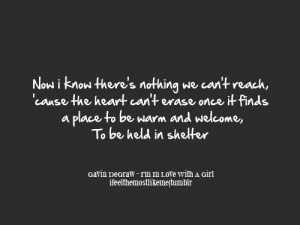 Gavin Degraw quote
