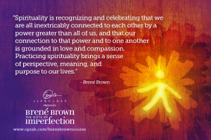 brown with oprah s life class the gifts of imperfection