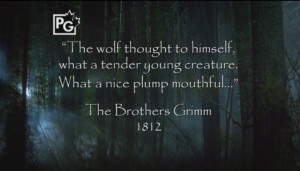 From E01] Every episode starts off with a Grimm quote