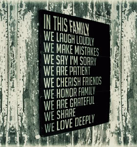 Family Values Quotes & Sayings