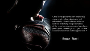 the key ingredient in any interesting superhero…