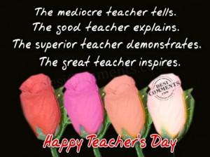 Happy World Teacher's Day-October 5th