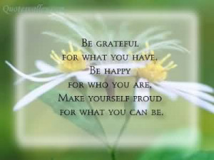 Make Yourself Proud For What You Can Be