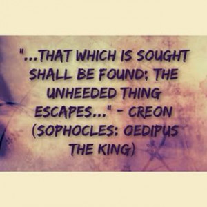 ... Creon #wisdom #quote Sophocles: Oedipus The King #GreekTragedies