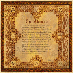elements, nature, pagan, paganism, wicca, wiccan