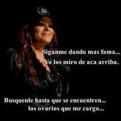 Jenni Rivera Quotes About Haters Jenni rivera