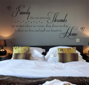 Family Quotes And Poems Family poem vinyl wall art