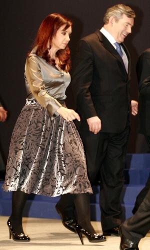 Os vestidos de Cristina Kirchner