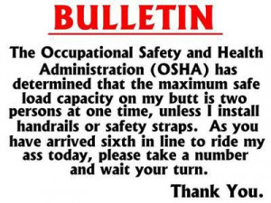 ... safety note category funny pictures occupational safety note