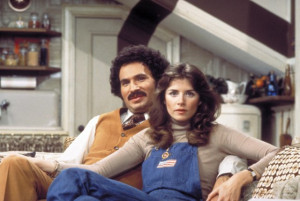 ... of Gabe Kaplan and Marcia Strassman in Welcome Back, Kotter (1975