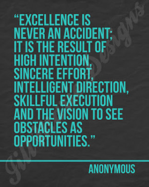... excellence excellence quotes excellence quotes striving for excellence