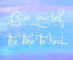 time to heal quotes
