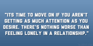 Quotes About Feeling Lonely In A Relationship