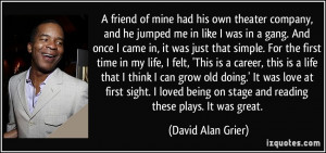 Gang Quotes About Life More david alan grier quotes