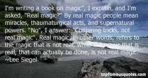 Supernatural Powers Quotes
