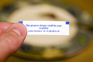 funny fortune cookie sayings