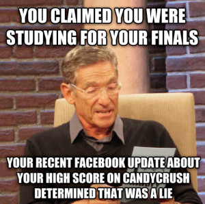 maury determined that was a lie you claimed you were studying for your ...