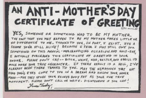 Malignant Narcissist Mother's Day