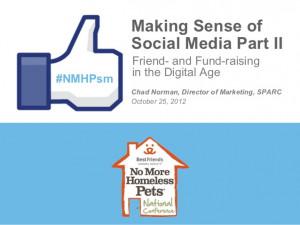 Using Social Media for Non Profits
