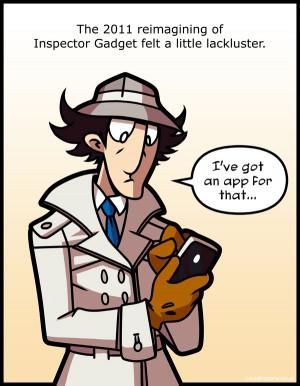 Inspector Gadget Louistrations