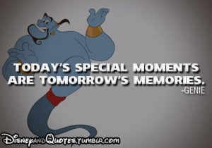 . Genie from Aladdin! Disneyquotes, Disney Quotes, Character Quotes ...