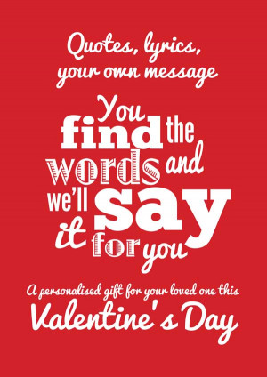 Romantic And Loving Valentine Day Love Quotes