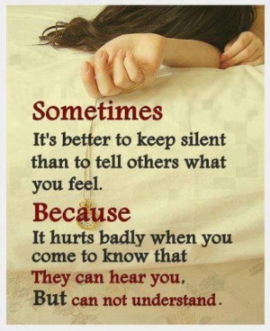what hurts the most..