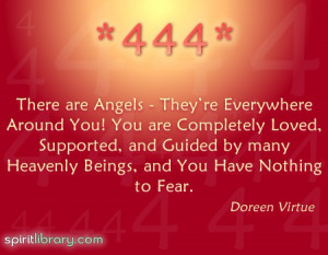 There Are Angels, They're Everywhere Around You, You Are Completely ...