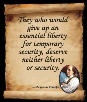 Benjamin Franklin Quote by atomsmash