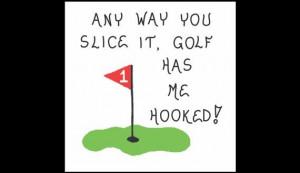 Golf magnet - Golfing quote Humorous golfer saying, putting green ...