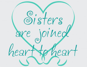 Catalog > Sisters Joined Heart to Heart