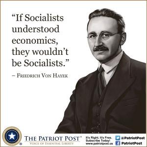 Quote: Von Hayek on Socialists