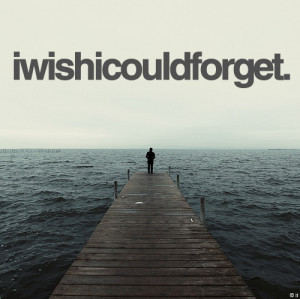 grief, i wish i could forget, iwishicouldorget, ocean, picture quote ...
